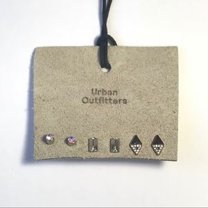 {urban outfitters} three pairs of earrings